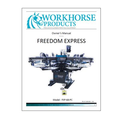 Freedom Express Owners Manual