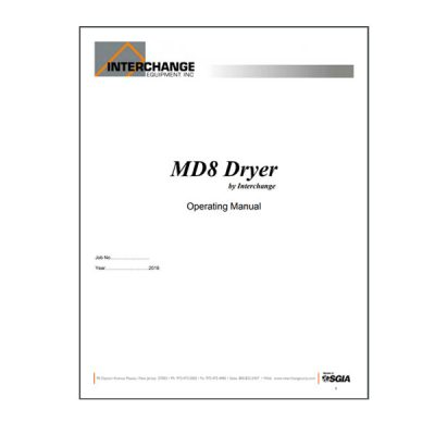 MD8 Owners Manual