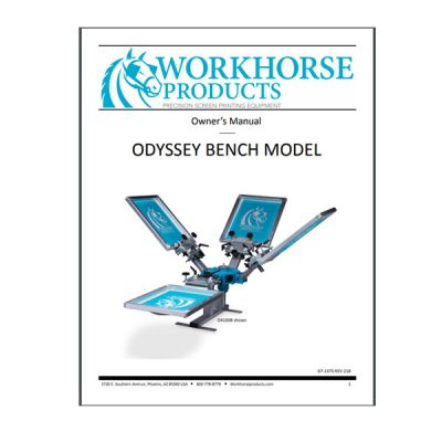 Odyssey Bench Model Owners Manual