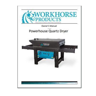 Powerhouse Quartz Dryer Manual