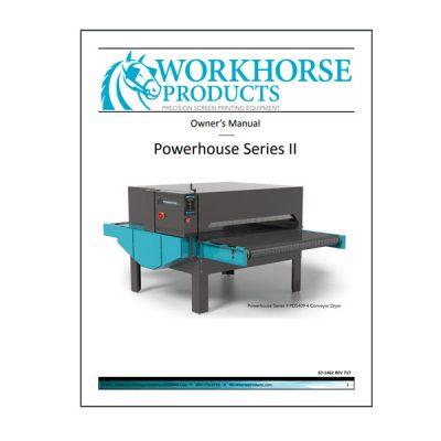 Powerhouse Series II Dryer Owners Manual