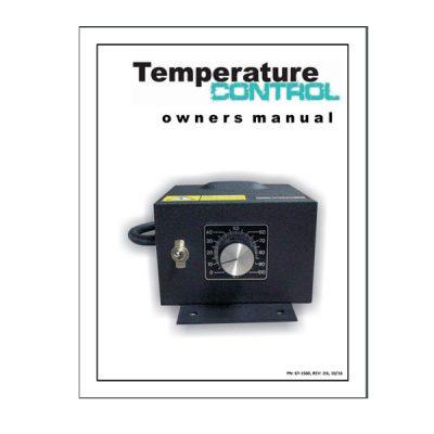 Temperature Control Owners Manual