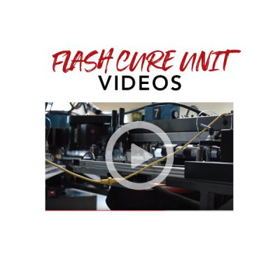 Flash Cure Unit Videos